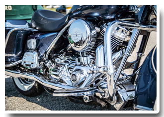 chrome harley davidson