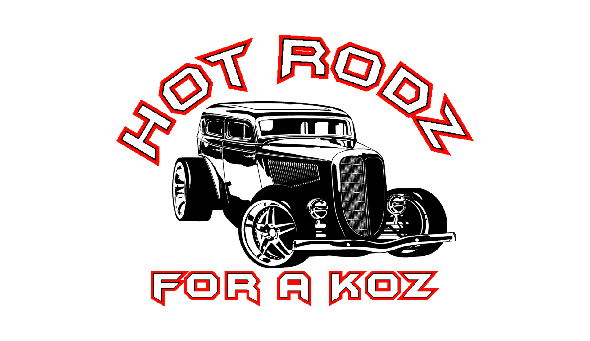 hot rodz for a koz logo